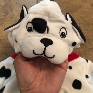 New Baby Carters Dog Dalmatian costume plush